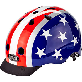 Nutcase Street Helm Kinder stars & stripes